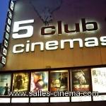 Cinémas Les 5 Club à Grenoble: cinémas Art et Essai.
