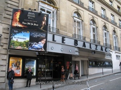 Salles de cinéma : déco et extérieurs sous les projecteurs Cinema-balzac