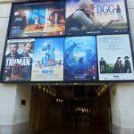 Cinémas UGC George V sur l'avenue des Champs-Elysées.