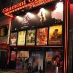Cinéma Gaumont Opéra Français à Paris, sur les Grands Boulevards: façade du cinéma.