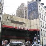 Façade murée du cinema le Barbizon à Paris - www.salles-cinema.com