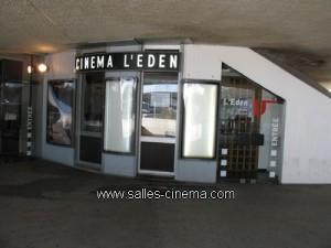 Cinéma l'Eden Le Havre (Le Volcan), cinéma art et essai.