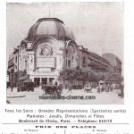 Gaumont Palace à Paris: photo de 1912