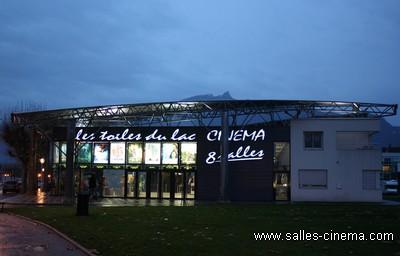 Cinéma multiplexe les Toiles du Lac à Aix-les-Bains, en Savoie.