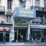Cinéma disparu à Bruxelles: Cinéma Ambassador (façade du cinéma)