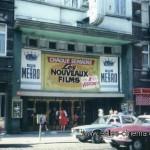 Cinéma disparu à Anderlecht - Bruxelles: Cinéma Métro (façade du cinéma)