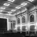 Ancien cinéma Agora à Bruxelles: l'intérieur de la salle de cinéma disparue