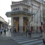 Le cinéma Louxor au carrefour Barbès