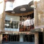 Cinéma Métropole à Bruxelles: façade de l'ancien cinéma disparu.