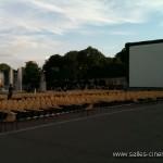 Cinéma en plein-air: festival de cinéma Au Clair de Lune à Paris