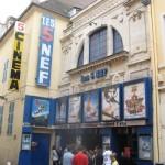 Cinéma Les 5 Nefs à Chalon-sur-Saône: façade du cinéma