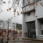 Façade du cinéma Forum à Chambéry (Savoie)
