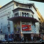 Photo du cinéma Louxor en 1982 - Copyright: Jean-François Chaput