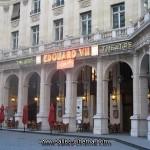 Façade du Théâtre Edouard VII qui accuaillait également des séances de cinéma.