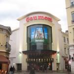 Façade du Gaumont Saint-Etienne - www.salles-cinema.com