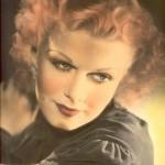 Portrait d'une actrice de cinéma des années 1930 - www.salles-cinema.com