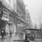 Ancienne façade du cinéma Parisiana devenu Gaumont Richelieu sur les grands boulevards à Paris- www.salles-cinema.com