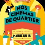 Exposition des cinémas de quartier autour du Louxor à Barbès