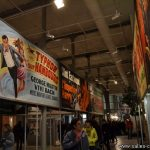 Exposition d'affiches de façade de cinéma peintes par André Azaïs à la Cinémathèque de Toulouse