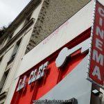 Façade du cinéma La Clef à Paris