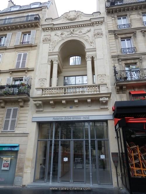 Ev nement ouverture la fondation j r me seydoux path salles histoire et photos - Fondation jerome seydoux pathe ...