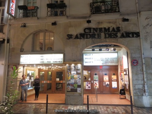 Cinéma Saint-André-des-Art à Paris