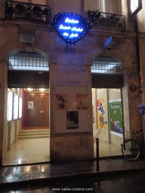 Cinéma Saint-André-des-Art, salle rue Gît-le-Coeur, à Paris