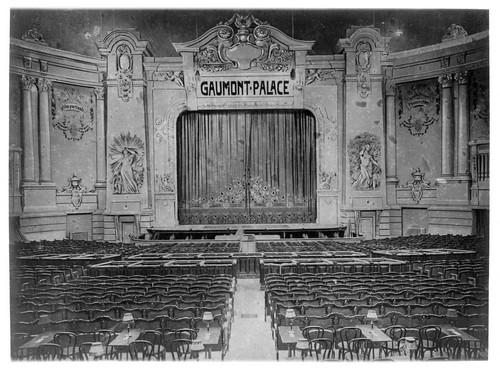 exposition gaumont f te ses 120 ans salles histoire et photos des salles de cin ma. Black Bedroom Furniture Sets. Home Design Ideas