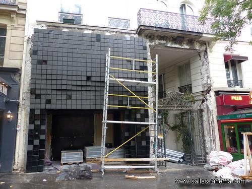 Cinéma Les fauvettes (Ancien Gaumont Gobelins) en travaux