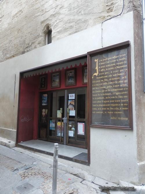 Façade du cinéma Utopia-République à Avignon