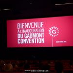 Inauguration du cinéma Gaumont Convention à Paris