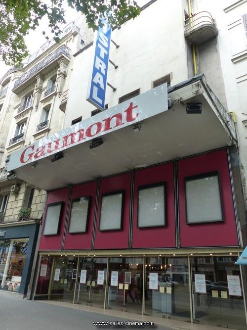 Fermeture Cinéma Mistral à Paris