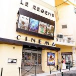 Façade du cinéma Le Régent à Bastia