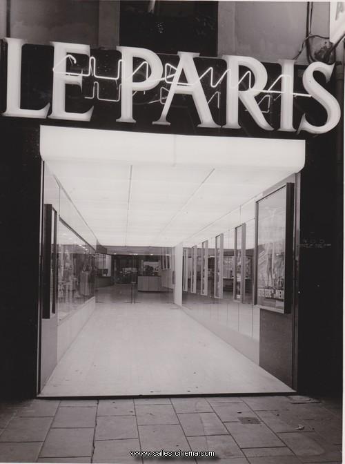 Façade du cinéma Le Paris à Grenoble