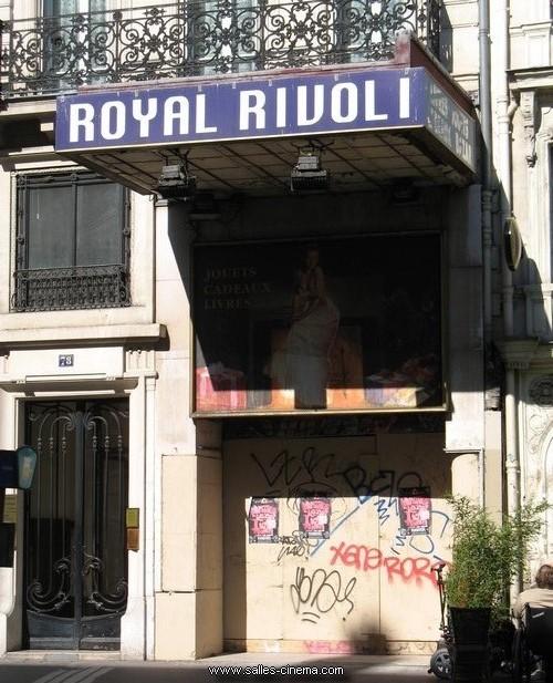 Ancien cinéma Royal Rivoli à Paris
