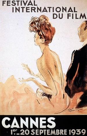 Affiche de Cannes 1939 par Jean-Gabriel Domergue